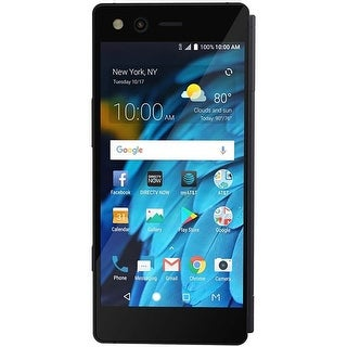 ZTE Axon M Z999 64GB Unlocked AT&T Dual-Screen Phone w/ 20MP Camera - Black