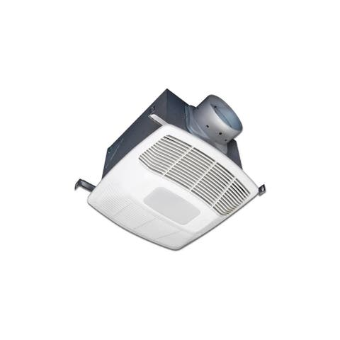 Air King EL130SH 130 CFM 0.6 Sone Ceiling Mounted LED Light Humidity - White