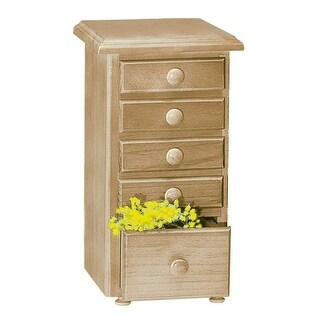 Kitchen Spice Chest Unfinished Pine 5 Drawer Renovator's Supply