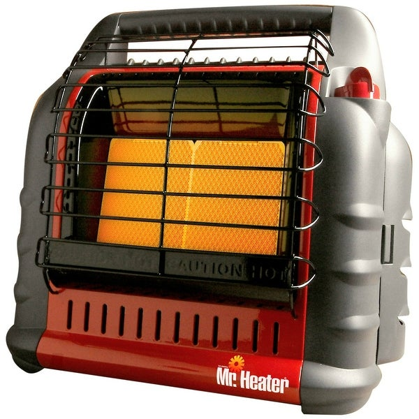 Mr Heater F274865 (MH18B) Big Buddy Propane Heater, 4000/9000/18000 BTU