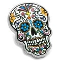 Day of the Dead Skull Lapel Pin - Thumbnail 0