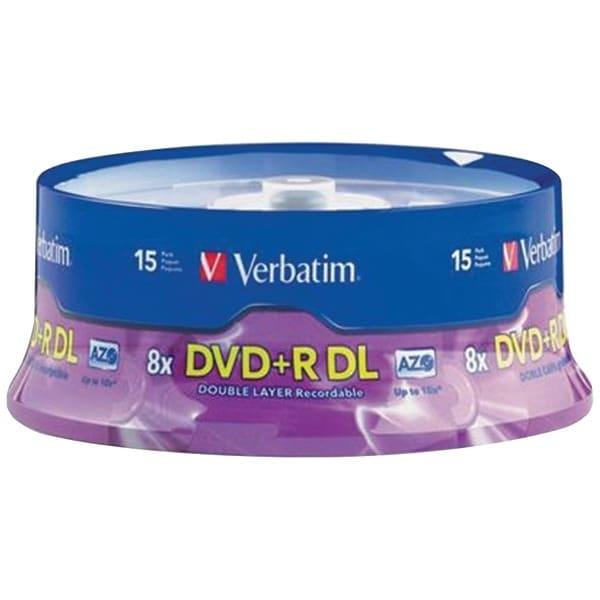 Verbatim 95484 8.5Gb Dual-Layer Dvd+Rs (15-Ct Spindle)