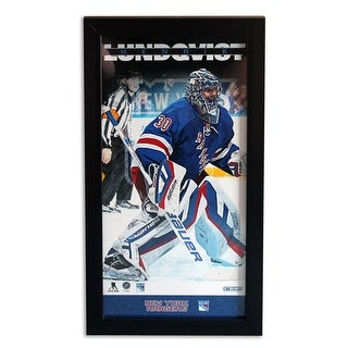 Henrik Lundqvist New York Rangers Framed 12x22 Photo This item is not autographed