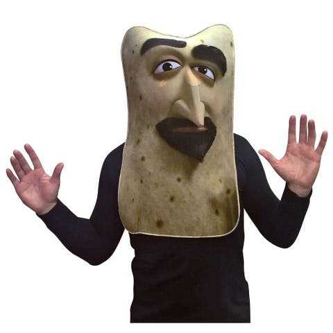 Sausage Party - Lavash Photo Real Adult Costume - Tan