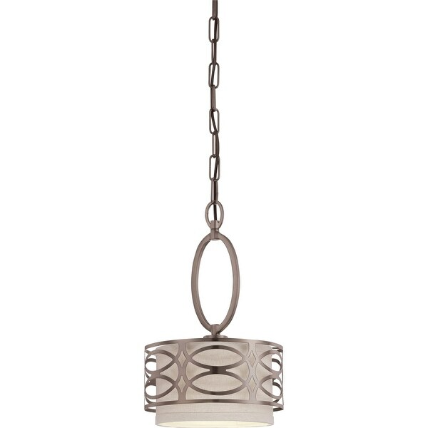 "Nuvo Lighting 60/4728 1-Light 8-7/8"" Wide Mini Pendant - hazel bronze"