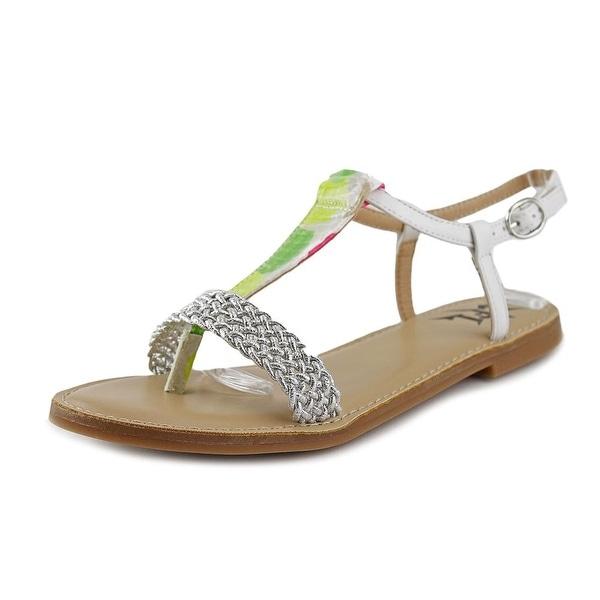 LFL Defiant Women Open Toe Synthetic White Sandals