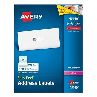 Avery Address Labels for Laser Printers Address Labels for Laser Printers