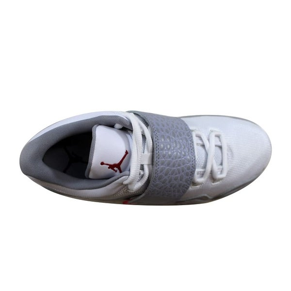 Shop Nike Men's Air Jordan J23 WhiteGym Red Wolf Grey