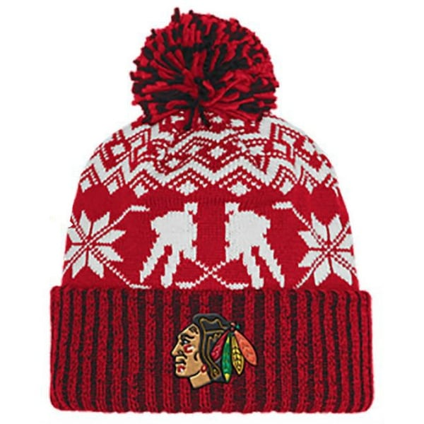 Shop Adidas Men s NHL Chicago Blackhawks Stocking Knit Hat Beanie Winter  Red 11FIZ - Free Shipping On Orders Over  45 - Overstock - 26051681 c4a2b0e71b7