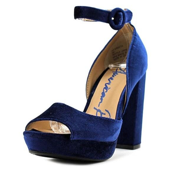 American Rag Areeta Women Jeweled Blue Sandals