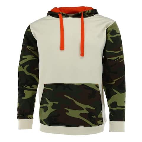 Code Five Men's Fashion Camouflage Hooded Sweatshirt