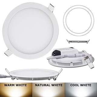 21W -Round LED Recessed Light Ceiling Bulb Lamp Natural white 4000k-4500K Non- Dimmable