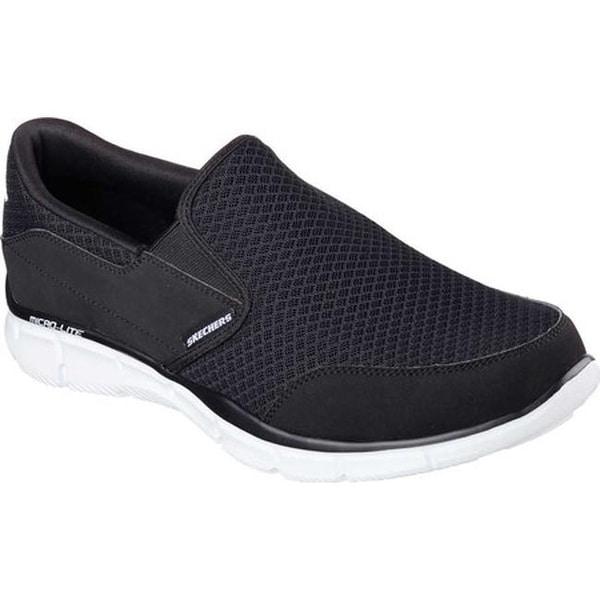 5251bd095b83 Shop Skechers Men's Equalizer Persistent Black/White - Free Shipping ...
