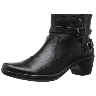 Easy Street Womens Carson Almond Toe Ankle Fashion Boots