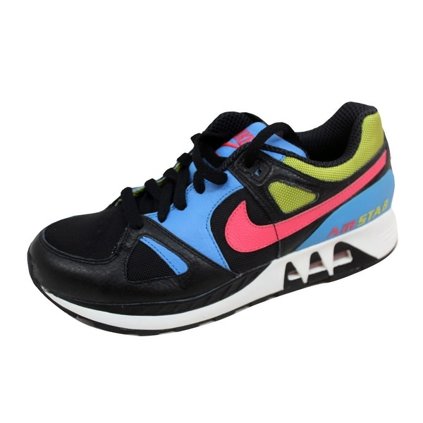 Nike Men's Air Stab Black/Flamingo-Bright Cactus 316402-081