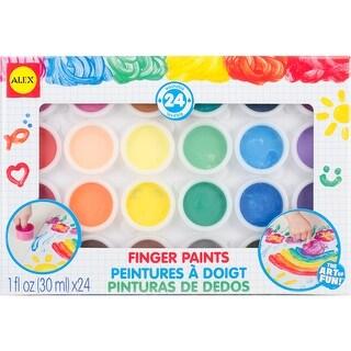Finger Paints 24/Pkg-