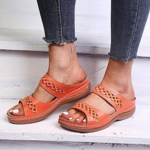 Flip Flops Woven Sandals