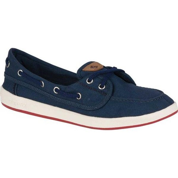 7a948a85cfd12 Shop Sperry Top-Sider Women's Drift Hale Boat Shoe Navy Canvas ...