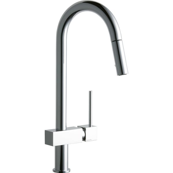 Elkay LKAV1031 Avado 2.2 GPM Deck Mounted Pull Out Kitchen Faucet