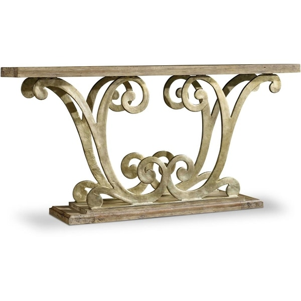 Shop Hooker Furniture 638 85244 64 Long Acacia Wood Console Table