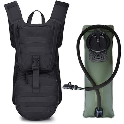 Military Tactical Hydration Pack Water Backpack 3L Upgraded Bladder