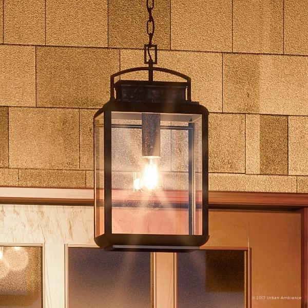 Luxury Craftsman Outdoor Pendant Light 21 H X 10 W With Arts