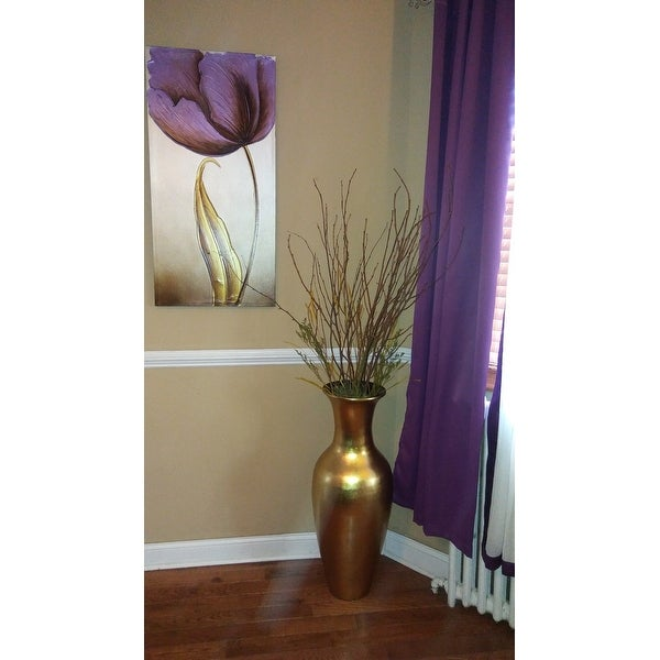 Shop Lacquer 36 Inch Tall Vase With Branches Free Shipping Today