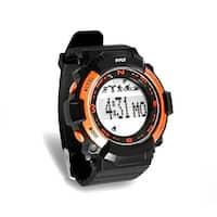 Multi-Function Sports Wrist Watch, Sleep Monitor, Pedometer Step Counter and Stop Watch (Orange)