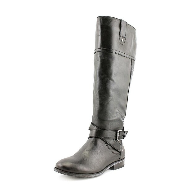 Marc Fisher Womens Amber WC Leather Closed Toe Knee High Fashion Boots - 5.5