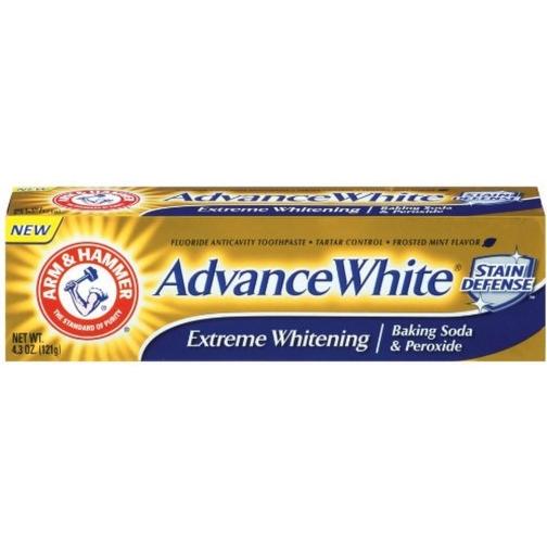 Arm Amp Hammer Advance White Baking Soda Amp Peroxide
