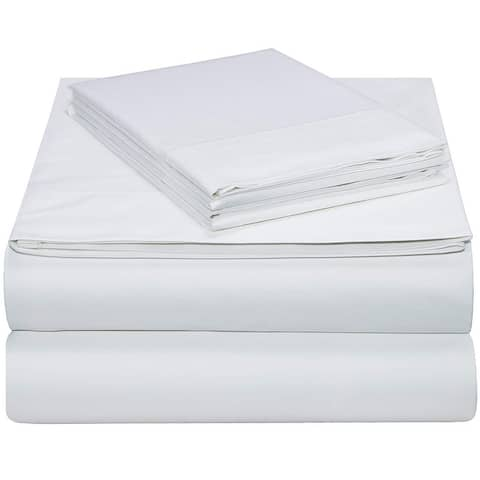 EnvioHome GOTS Certified Breathable Smooth Cotton Bed Sheet Set