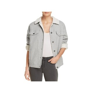 Kenneth Cole Womens Bomber Jacket Winter Fall