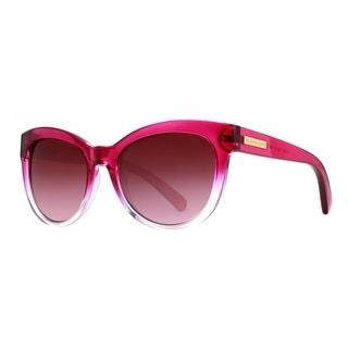 MICHAEL KORS Cat eye MK 6035 Mitzi Women's 3123 8H Clear Fuchsia Pink Brown Gradient Sunglasses - 53mm-18mm-135mm