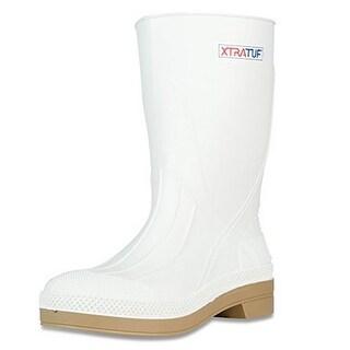 Xtratuf Mens Shrimp Boot, White, 9