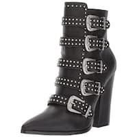 Steve Madden Womens Comet Pointed Toe Ankle Fashion Boots