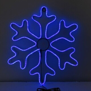 Celebrations  Plug-In  Snowflake Silhouette  Hanging Decor - White
