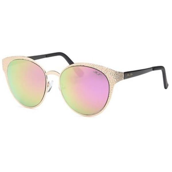 b86904fb025 Shop Mia Nova MN2017-118 PINK Star Gazer Round Style Sunglasses ...