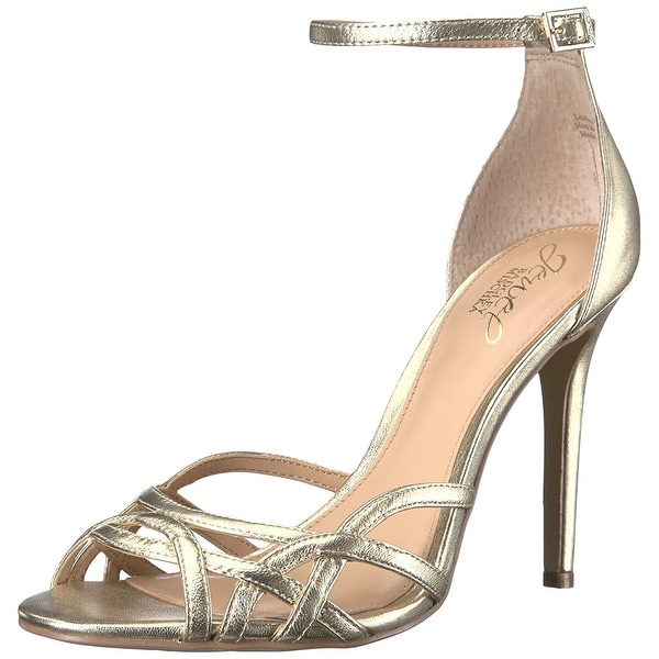 BADGLEY MISCHKA Womens Haskell Open Toe Special Occasion Ankle Strap Sandals