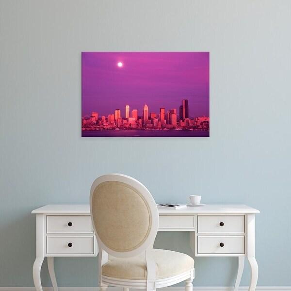 Easy Art Prints Jamie & Judy Wild's 'Seattle Skyline' Premium Canvas Art