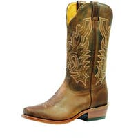 Boulet Western Boots Womens Cowboy Leather Selvaggio Wood
