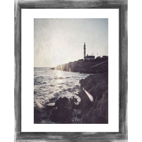 Ptm Images 179914 Rustic 24 X 20 Picture Frame Grey Free