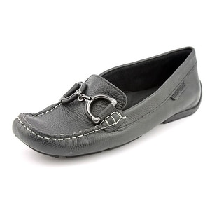 Hush Puppies Cora Moc Toe Leather Loafer