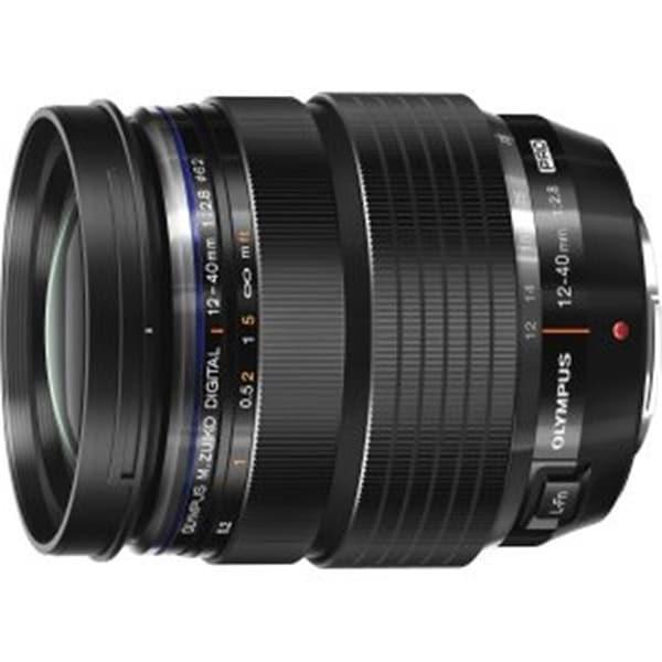Olympus America M.Zuiko Digital ED 12-40 mm Pro Lens, Black