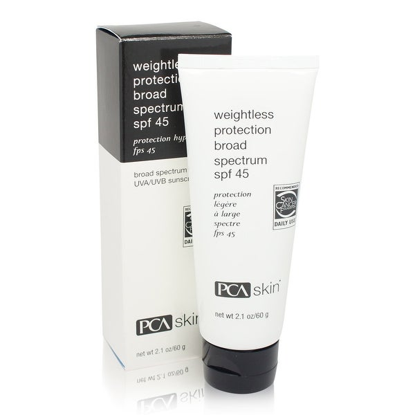 PCA SKIN Weightless Protection Broad Spectrum SPF 45 2.1 Ozs