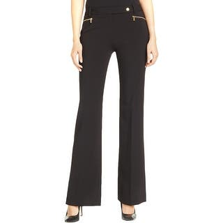 33a01198caa1e CALVIN KLEIN Womens Black Roll Tab Cargo Pants Size  1X. Quick View