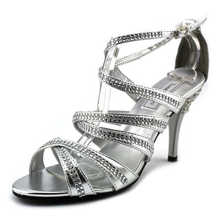 Touch Ups Mitzi Women Open Toe Synthetic Silver Sandals