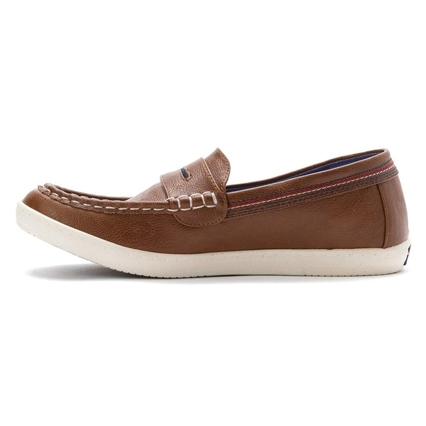 Tommy Hilfiger Womens dwayne Leather Closed Toe Boat Shoes - 6