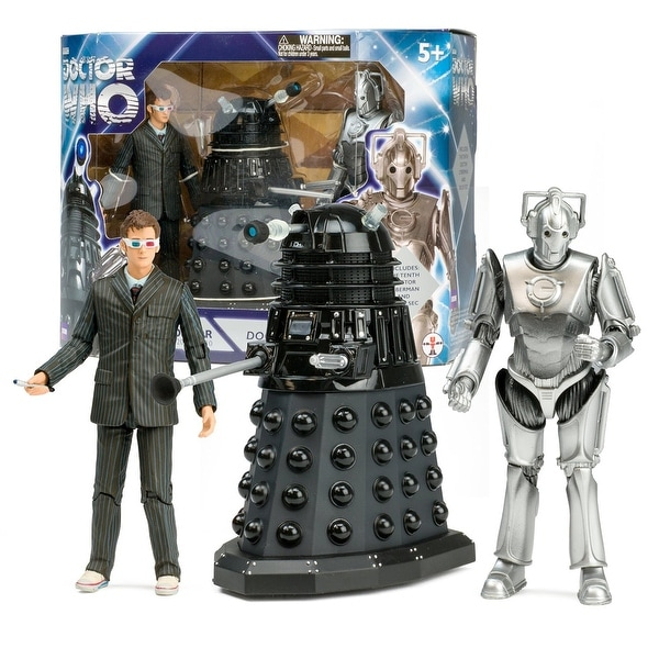 """Doctor Who """"Doomsday"""" 5"""" Action Figure Box Set - multi"""