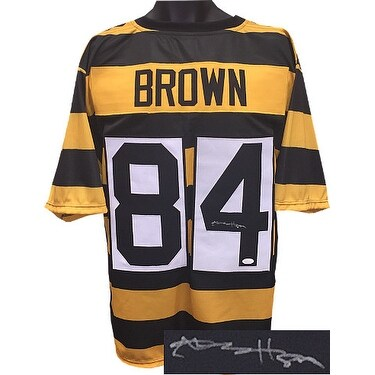 Brown Football Jersey Gold And