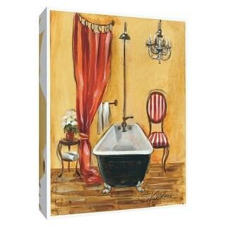 "PTM Images 9-154376  PTM Canvas Collection 10"" x 8"" - ""Tuscan Bath III"" Giclee Bathroom Art Print on Canvas"